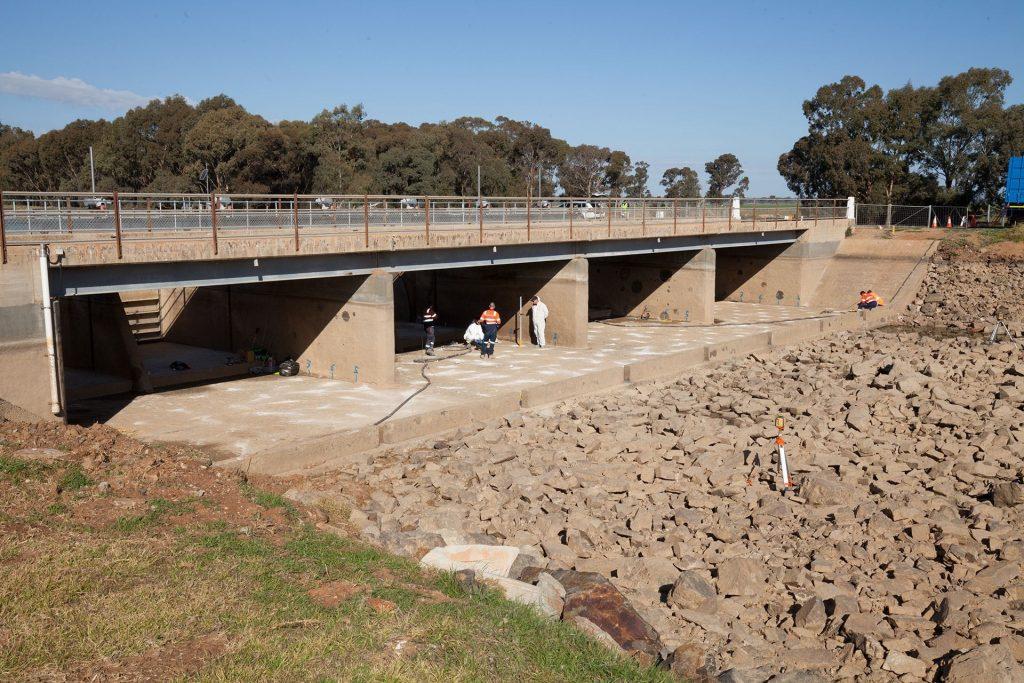 Water bridge infrastructure teretek