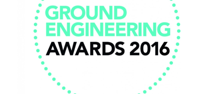 Ground Engineering Awards 2016 Mainmark