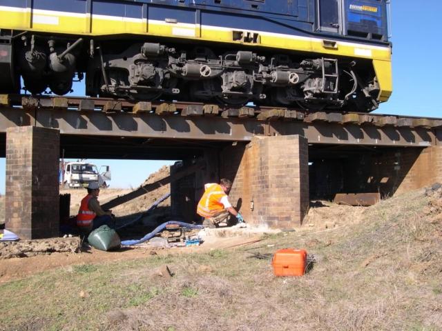 Bredalbane-rail-bridges-Relevel-Resupport