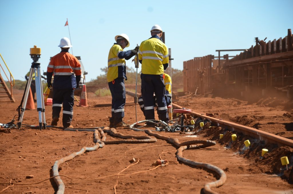 Weak Ground - Mining