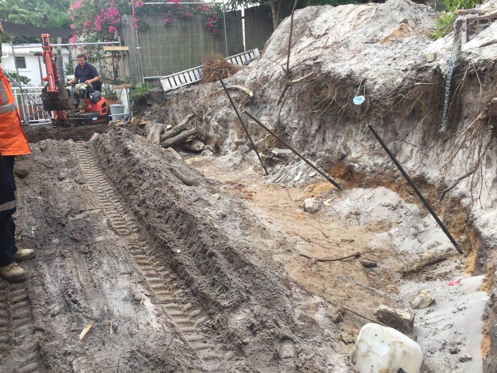 Retaining walls stabilisation Bondi NSW-Permeation Grouting
