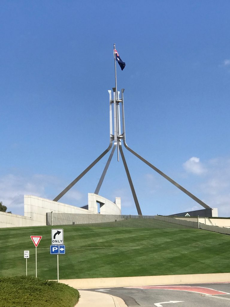 Public buildings parliament house