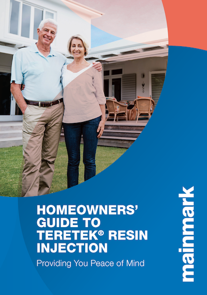 omeowners' Guide To Teretek Resin Injection brochure