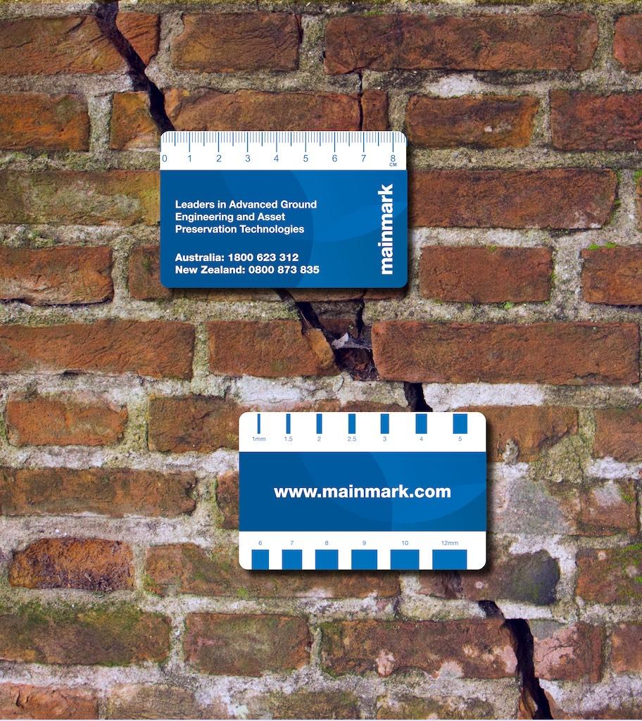 Mainmark crack gauge card