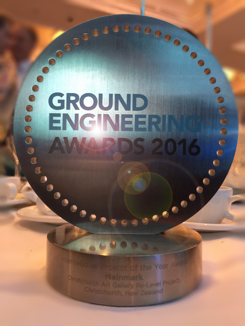 international project of the year award mainmark ground engineering awards 2016