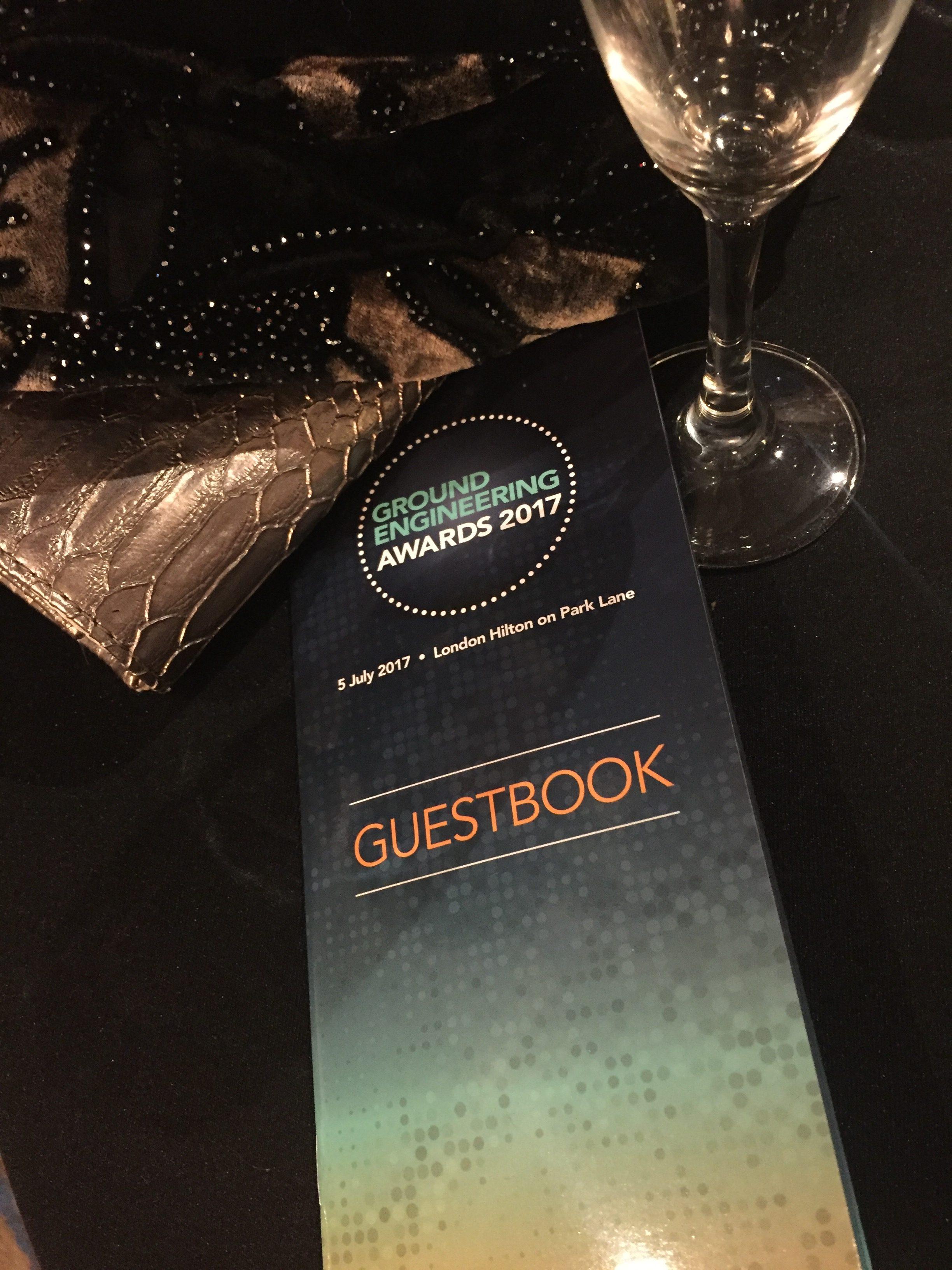 GE Awards Guestbook