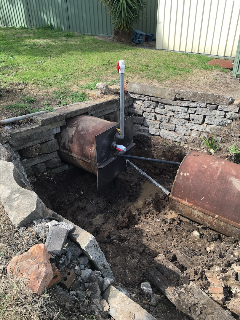 Beresfield Pipe Fill-Outlet End-Terefil