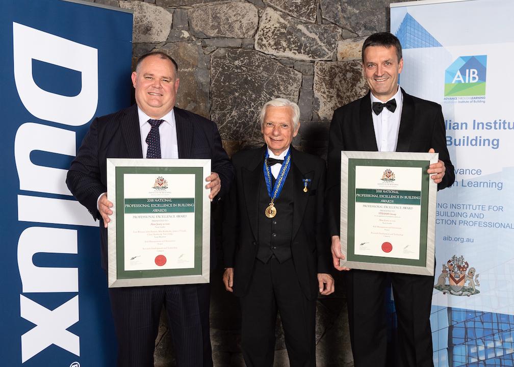 Alan Jeary Award AIB