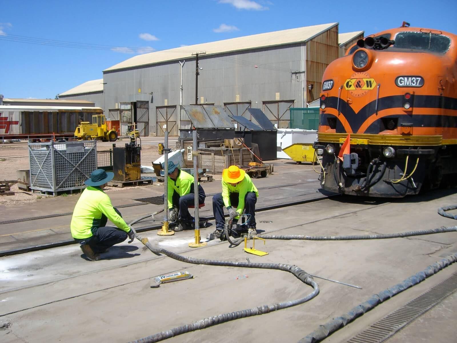 Blog rail works