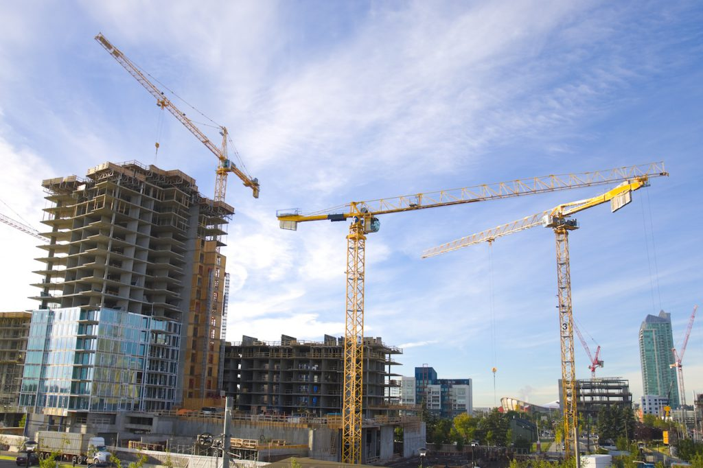 Calgary's booming residential market in progress