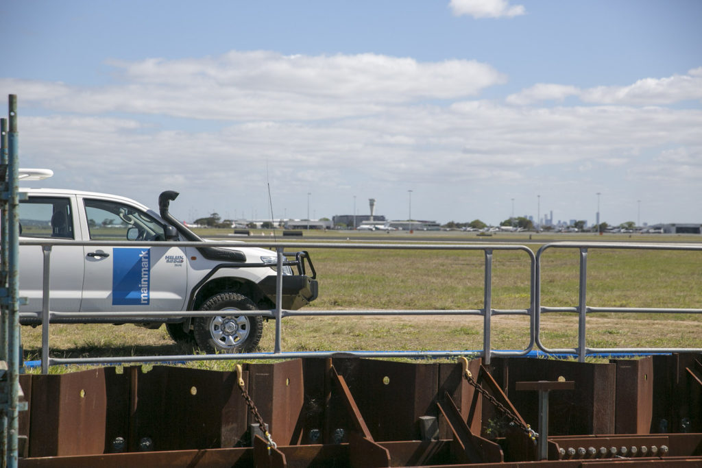Mainmark fills damaged culvert at Brisbane Airport