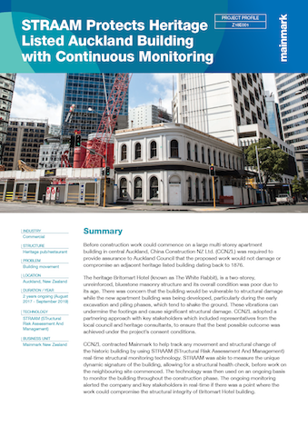 STRAAM-Protects-Heritage-Listed-Auckland-Building-with-Continuous-Monitoring